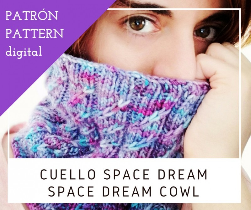 Cuello Space Dream - Patrón