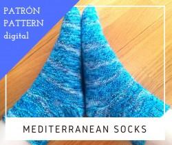 Mediterranean Socks - Patrón (en Inglés)
