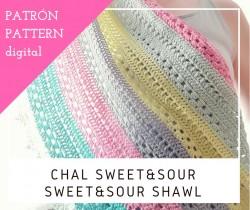 Chal Sweet&Sour - Patrón