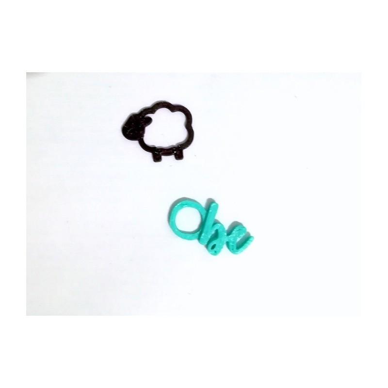 Ovejita Be! 3D printed markers