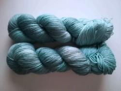 Knit Yang - Mist teal